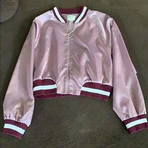 Forever 21 Crap bomber jacket